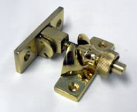 Brighton Fastener Polished Brass | finish - Polished Brass :: code - BFBP - Click to Enlarge