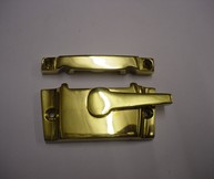 Camlock Non-Locking Polished Brass | finish - Polished Brass :: code - CAMLOCK - Click to Enlarge