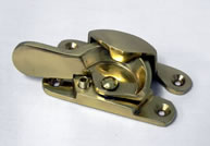 Locking Fitch Fastener Polished Brass | finish - Polished Brass :: code - FFPBLK - Click to Enlarge