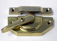 King Fastener Locking Polished Brass | finish - Polished Brass :: code - KFPBLK - Click to Enlarge
