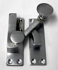 Quadrant Fastener Satin Chrome | finish - Satin Chrome :: code - QFSC - Click to Enlarge